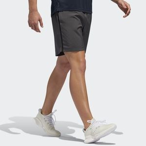 Adidas Own the Run Grey Running Shorts Small NWT